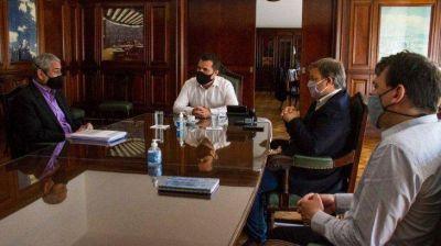Martínez analizó el estado de la red eléctrica de zona sur junto a intendentes, tras reiteradas críticas a Edesur