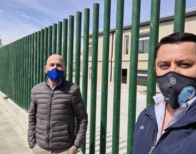 Llugdar y Villegas supervisaron obras en Kilómetro 5