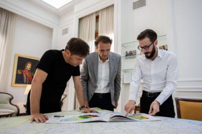Kicillof vuelve a anunciar obra pública, el eje principal de la gestión de cara a la pospandemia