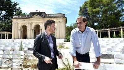Garro le pidió a Kicillof que deje el Teatro del Lago en manos del Municipio