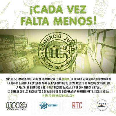 La CNCT abrirá en La Plata su primer mercado cooperativo del país