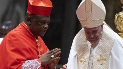 El Cardenal de Kinshasa, Ambongo Besungu, nuevo miembro del Consejo del Papa