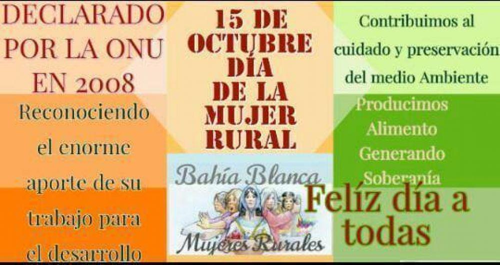 Saludos desde UATRE Bahía Blanca // 15 de Octubre Día de la Mujer Rural