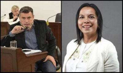"""Aradas denunció a la intendente Pascua por corrupción, ella respondió con una por """"hostigamiento"""""""