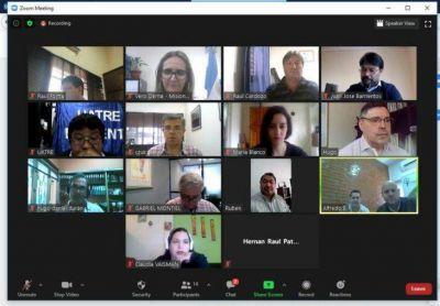Se desarrolló el 1° Encuentro virtual de la Comisión Asesora Regional n° 9 de la CNTA
