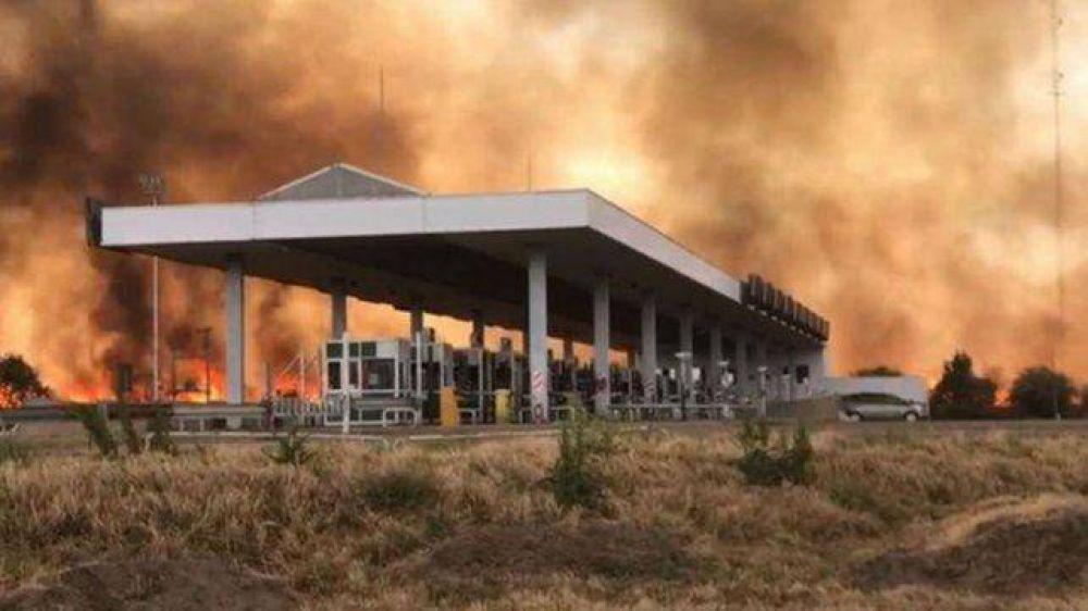 Se reinició el incendio de Capilla del Monte