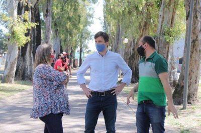 Ghi visitó la Reserva Natural y el Gorki Grana para supervisar los protocolos sanitarios