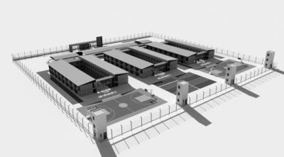 Alak confirmó la intención de construir la alcaidía en la ribera