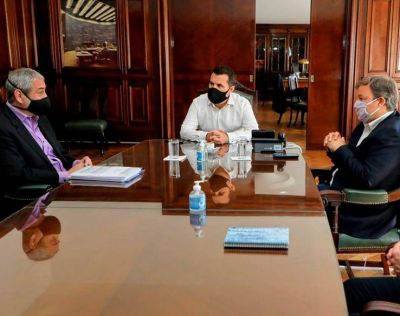 Los intendentes se llevaron el respaldo del nuevo Secretario de Energía en su cruzada contra Edesur