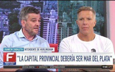 Un intendente del PJ propuso mudar la capital de la Provincia a Mar del Plata y Garro lo cruzó con dureza