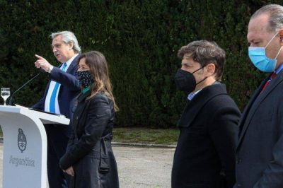 """Sergio Berni: """"Yo esperaba peronismo en el Gobierno, pero hay una actitud más progresista"""""""