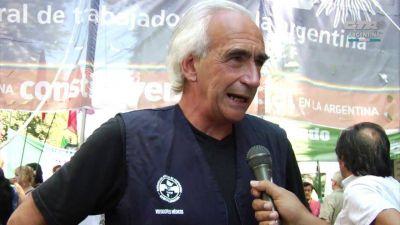 Peidro denunció que excluyeron a la CTA Autónoma del debate por el salario para evitar