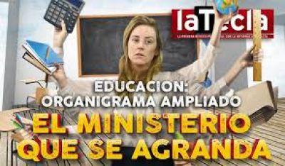 Educación, el ministerio que se agranda