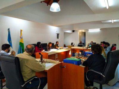 El Concejo Deliberante volvió a sesionar de forma presencial