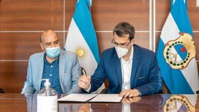 Firmaron un convenio que regula las prácticas profesionales de la carrera de Especialización en Criminología