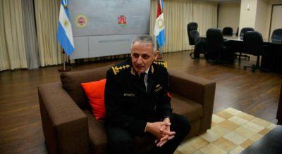 El jefe de la Policía de Córdoba tiene coronavirus y su estado es bueno