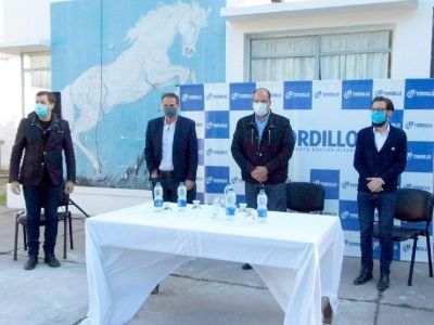 El intendente Olivera recibió al ministro Katopodis