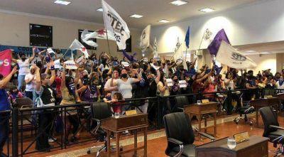 Suspendieron la sesión en el concejo Tigre por un escándalo en el recinto