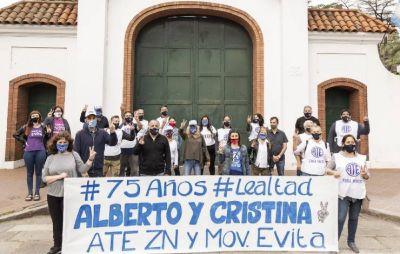 ATE Zona Norte y el Movimiento Evita Vicente López, unidos por el 17 de Octubre