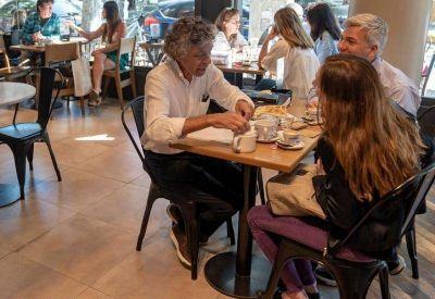 Locales gastronómicos de San Isidro volvieron a atender en su interior y las ventas suben 80%