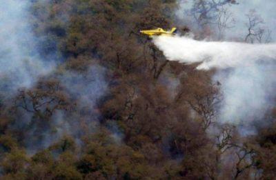 La provincia quiere que los aeroaplicadores se sumen a la lucha contra el fuego