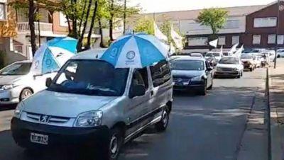 En Junín, Camioneros también se movilizó por el Día de la Lealtad