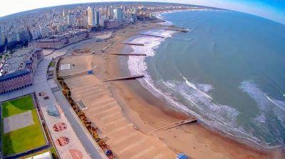 Tras un mes de meseta con alto grado de contagios, Mar del Plata comienza a prepararse para la temporada