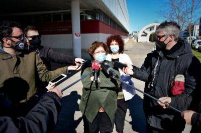 La secretaria de Salud, Viviana Bernabei, está aislada con síntomas de coronavirus