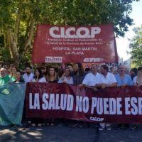 Tras las protestas en hospitales, Provincia busca acercar posiciones con Cicop