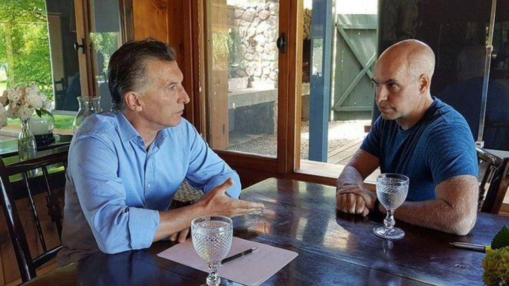 Macri le remarca a Larreta que la estrategia no es la moderación