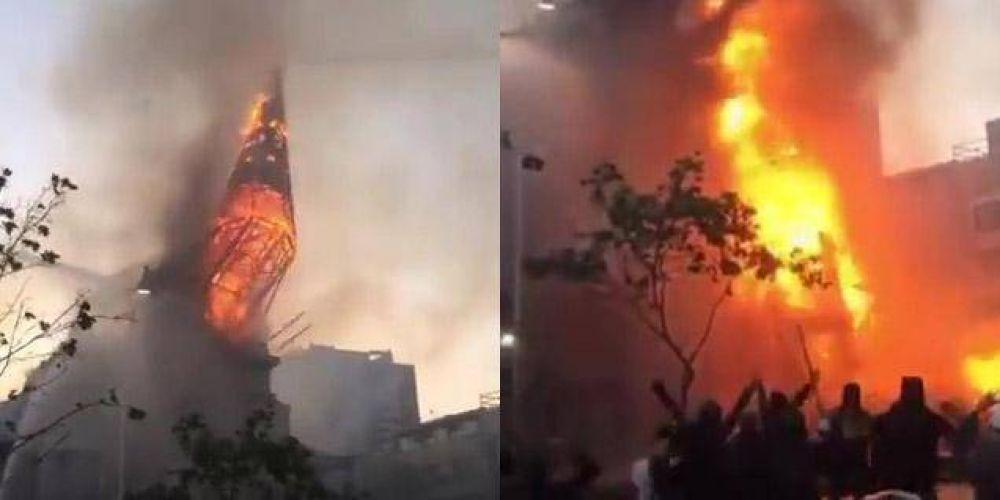 Chile: Iglesias vuelven a ser vandalizadas e incendiadas