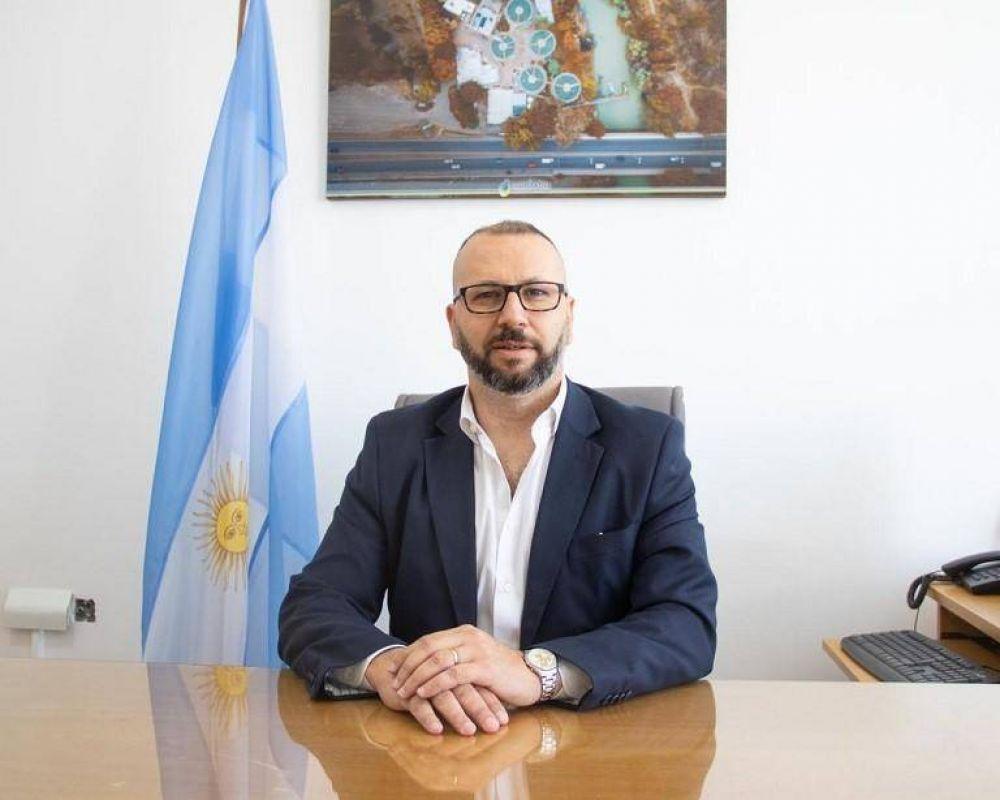 """Petrakosky: """"En la práctica, casi ninguna Cooperativa de Chubut le paga al Mercado Eléctrico Mayorista"""""""