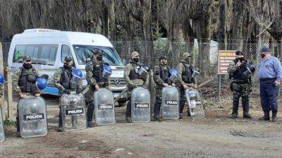 La justicia autorizó el desalojo de las tierras usurpadas en El Foyel