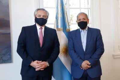 Alberto Fernández se reunió con Palazzo y equilibra el diálogo con todos los sectores
