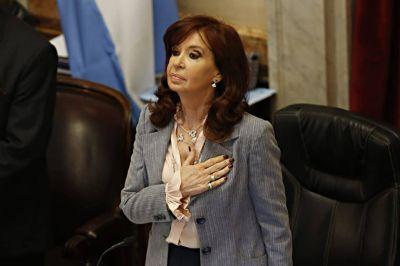 Para Cristina Fernández, la verdadera efemérides de octubre es la muerte de Néstor Kirchner