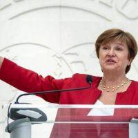 Kristalina Georgieva apoyó las medidas del gobierno para contener al dolar