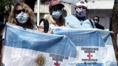 Trabajadores de enfermería harán una protesta con acampe frente a la sede del Gobierno porteño