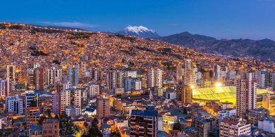 Bolivia y los colores de La Paz (Nuestra Señora de La Paz)