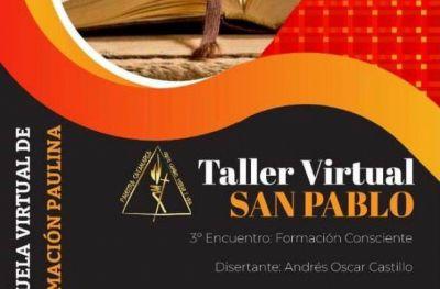 Invitan al tercer taller virtual sobre la vida de San Pablo