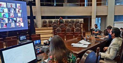 Emotivo homenaje al expresidente Néstor Kirchner en la Cámara de Diputados