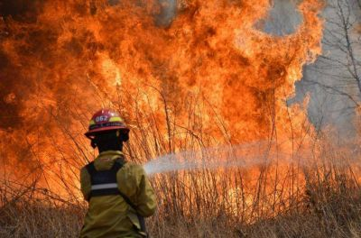 La mano del hombre causó la mayoría de las 600 intervenciones por incendios en Salta