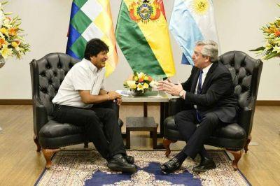 La cena íntima entre Alberto Fernández y Evo Morales tras el triunfo del MAS