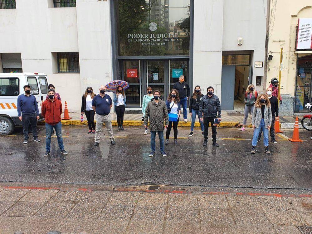 Nueva jornada de paro en las sedes judiciales de Córdoba