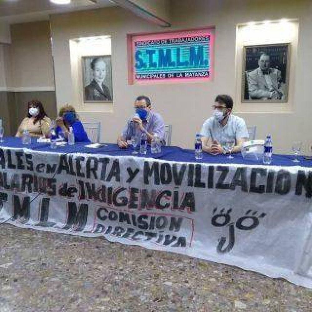 Municipales aceptaron la oferta del Gobierno local