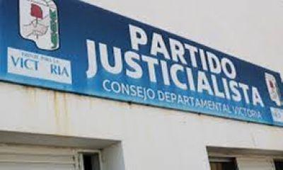 El Partido Justicialista del Departamento Victoria adhiere y apoya la Ley de Paridad Integral que debate la Legislatura entrerriana