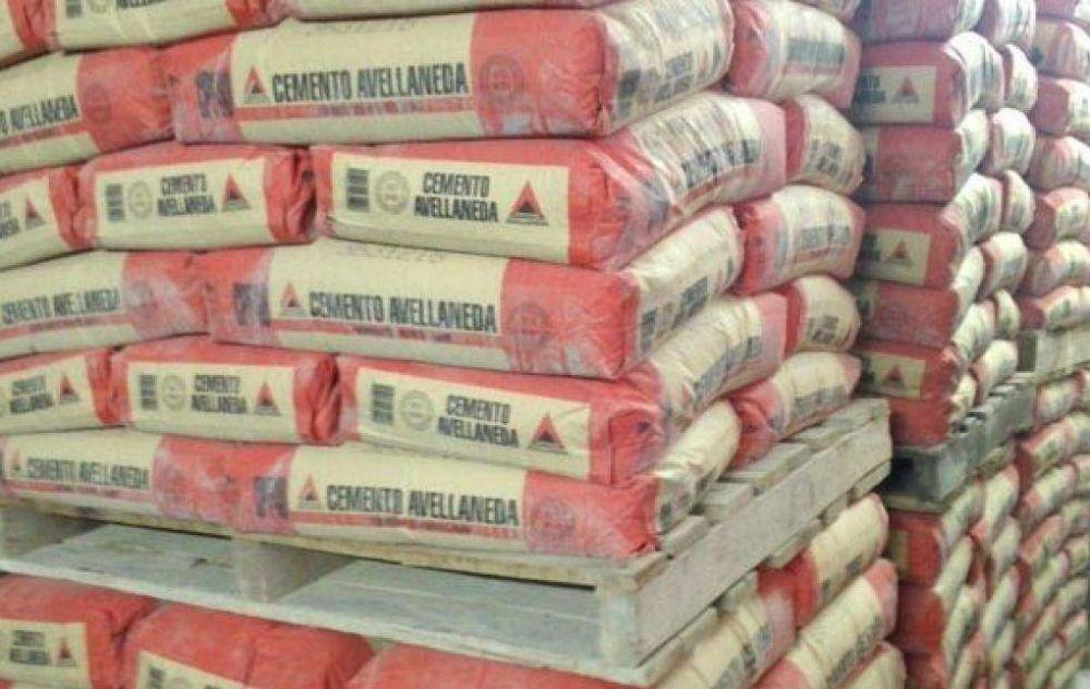 El consumo de cemento en Formosa tuvo su primer crecimiento en cuatro meses