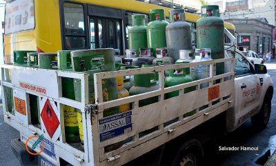 La garrafa de gas de 10 kilos rondaría los 550 pesos con transporte a domicilio