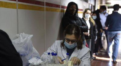 Dieron positivos el 13,7% de los tests en Córdoba en la última semana