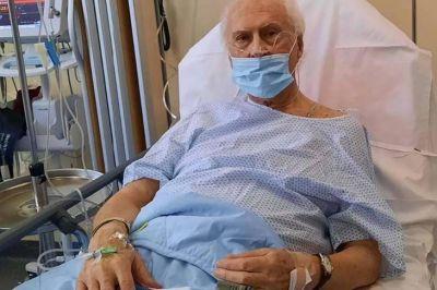 """Pino Solanas, en terapia por coronavirus en París: """"Estoy resistiendo"""""""