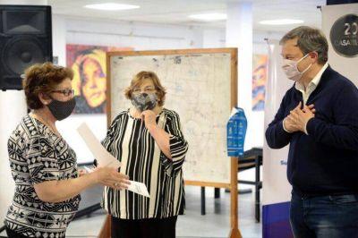 Cascallares agradeció a centros de jubilados por el trabajo que realizan en el distrito